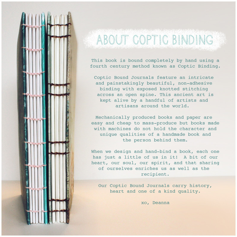 About Coptic Binding