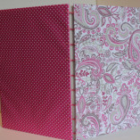 Pink Paisley Journal by A New Day Art Studio