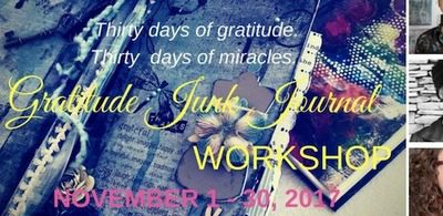 Gratitude Junk Journal Workshop Giveaway